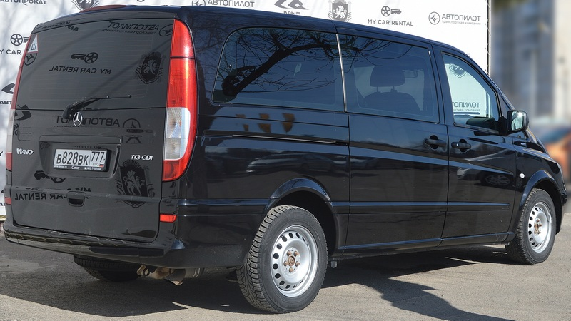 Аренда автомобиля Mercedes-Benz Viano в Крыму
